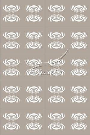 Airbrush šablona CEL-40 AKmedia