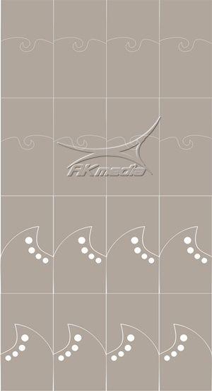Airbrush šablona francie 04 AKmedia