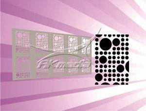Airbrush šablona MS-348