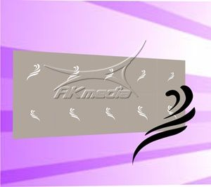 Airbrush šablona MS-371 AKmedia