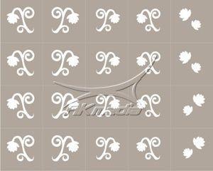 Airbrush šablona SK-01