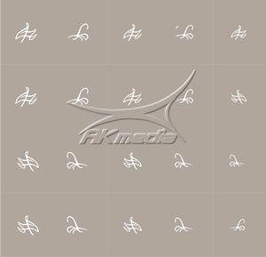Airbrush šablona SM-46 AKmedia