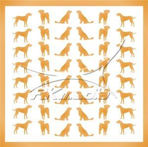 Samolepka pro nail art animal 09 zlatá AKmedia