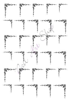 Vodolepka pro nail art VVZ-55 AKmedia