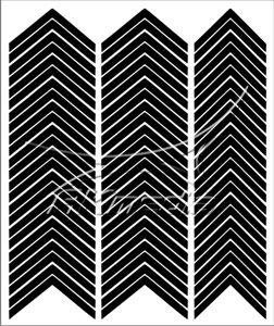 Samolepka pro nail art francie 03 černá AKmedia