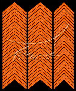 Samolepka pro nail art francie 03 oranžová AKmedia