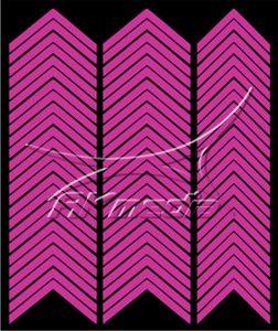 Samolepka pro nail art francie 03 pink AKmedia