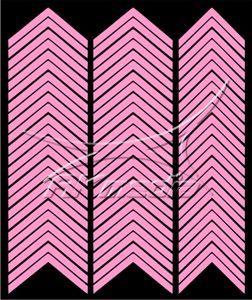 Samolepka pro nail art francie 03 světlá růžová