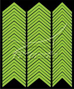 Samolepka pro nail art francie 03 světlá zelená AKmedia