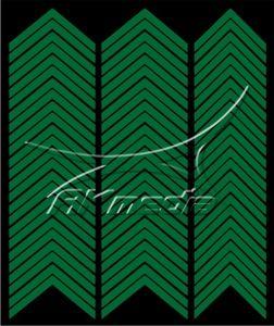 Samolepka pro nail art francie 03 tmavá zelená AKmedia