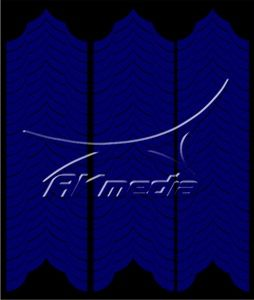 Samolepka pro nail art francie 04 tmavá modrá AKmedia