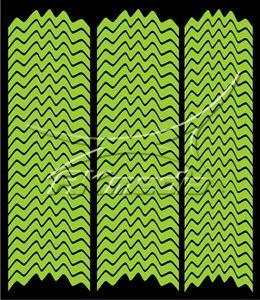 Samolepka pro nail art francie 05 světlá zelená AKmedia