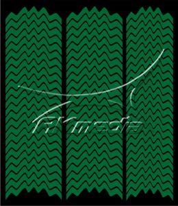 Samolepka pro nail art francie 05 tmavá zelená AKmedia