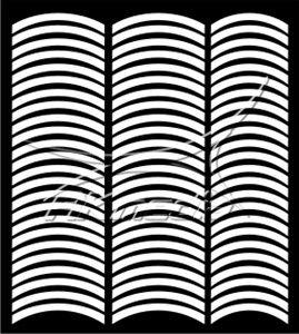 Samolepka pro nail art francie 08 bílá AKmedia