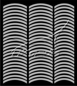 Samolepka pro nail art francie 08 stříbrná AKmedia