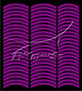 Samolepka pro nail art francie 08 tmavá fialová AKmedia