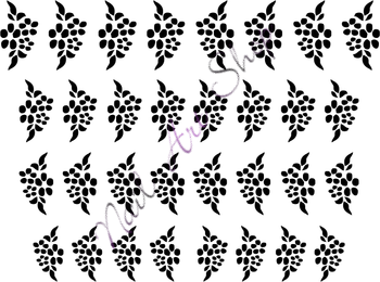 Vodolepka pro nail art VVZ-107 AKmedia