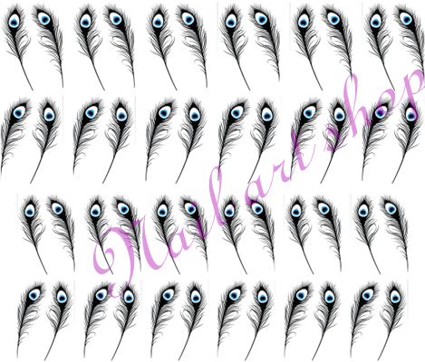 Vodolepka pro nail art VVZ-242 AKmedia