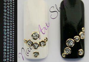 Creativ samolepky bublinky stříbrno zlaté