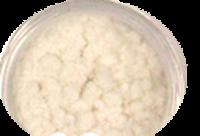 Aksamit - kašmír bílý