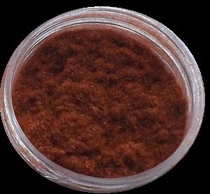Aksamit - kašmír hnědá