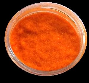 Aksamit - kašmír oranžová