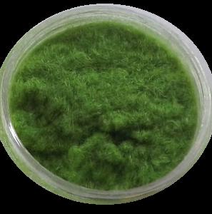 Aksamit - kašmír zelená