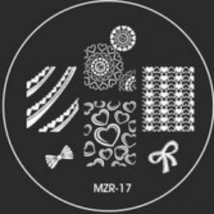 Destička pro razítkování MZR 17