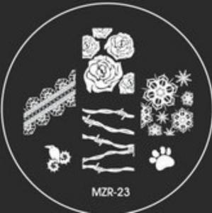 Destička pro razítkování MZR 23