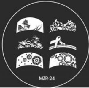 Destička pro razítkování MZR 24