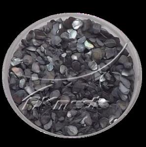 Drcené skořápky černá