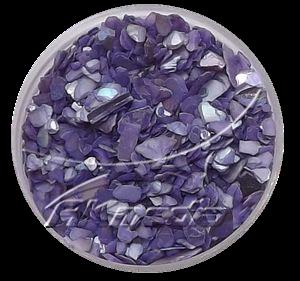 Drcené skořápky fialová