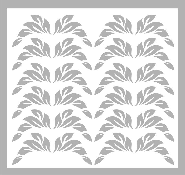 Samolepka pro nail art lístečky 1 stříbrná AKmedia