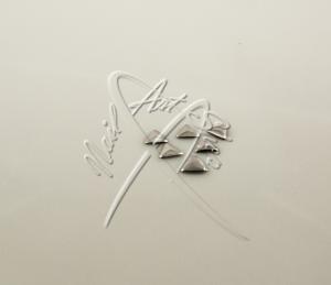 Zdobení kovové trojúhelník 6 mm stříbrná