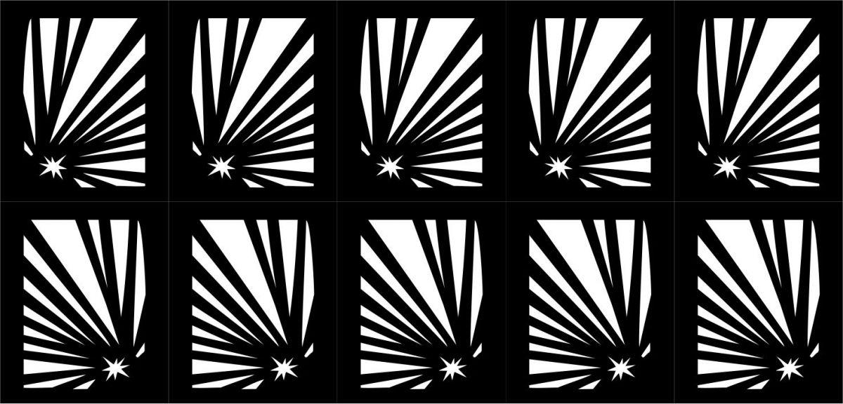 Samolepka - šablona vinyl 6 černá AKmedia