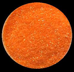 Jemné glitry oranžová