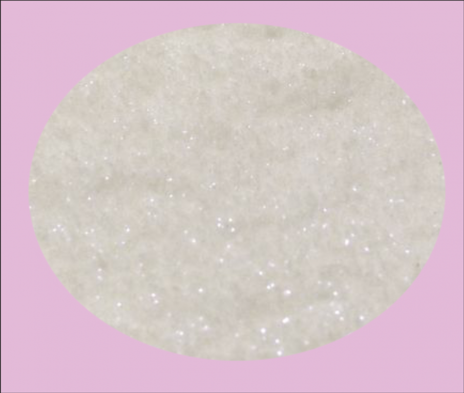 Jemný diamantový prach bílý