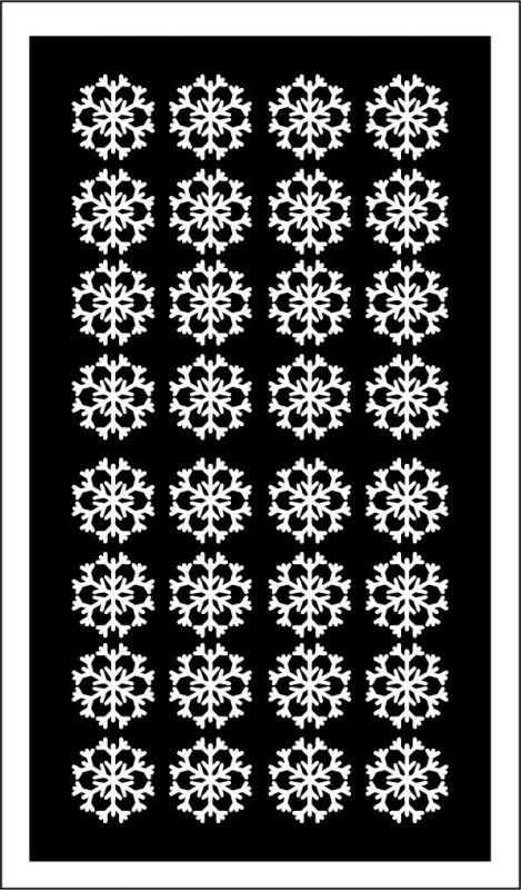 Samolepka pro nail art vločka 12 bílá AKmedia