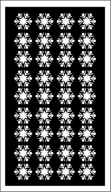 Samolepka pro nail art vločka 13 bílá AKmedia