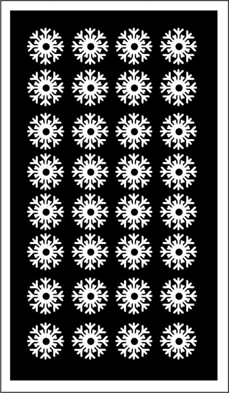 Samolepka pro nail art vločka 15 bílá AKmedia