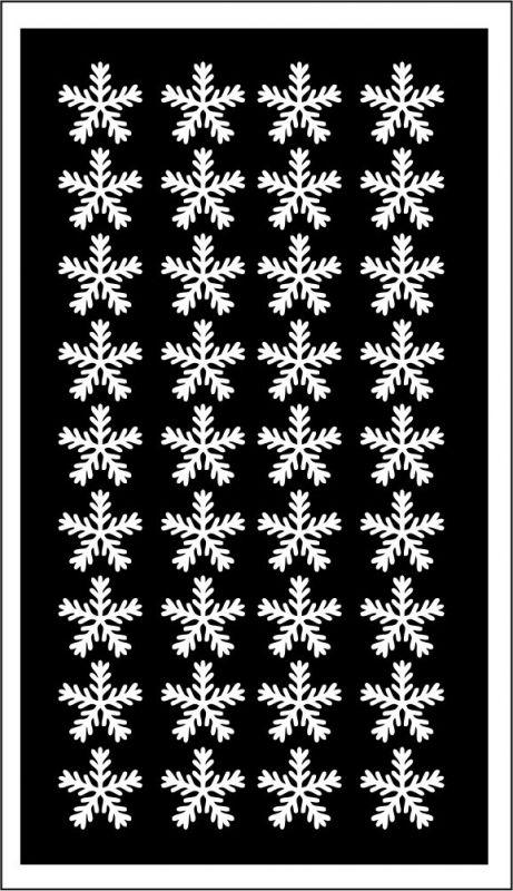 Samolepka pro nail art vločka 18 bílá AKmedia