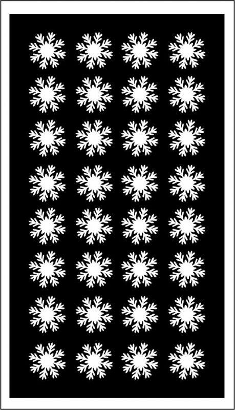 Samolepka pro nail art vločka 19 bílá AKmedia
