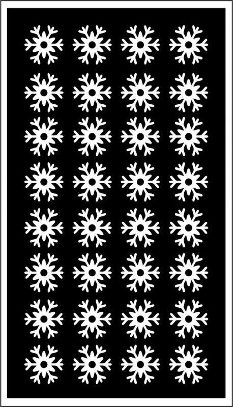 Samolepka pro nail art vločka 20 bílá AKmedia