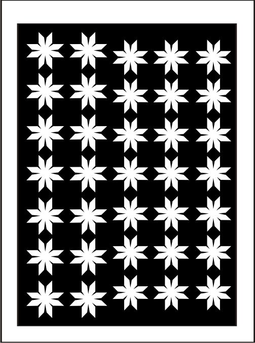 Samolepka pro nail art vločka 7 bílá AKmedia