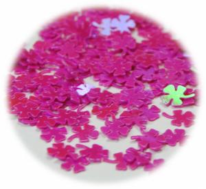 Čtyřlístek růžová tmavá lesk