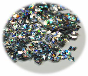 Diamant 3D stříbrná hologram