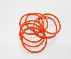 Gumička do vlasů 095 oranžové