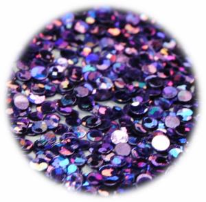 Kolečka mini fialová tmavá s hologramem
