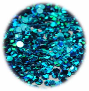 Kolečka mini tyrkysová s hologramem