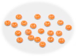 Vločky neonové oranžové malé